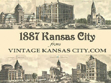 Free Vintage 1887 Kansas City Screensaver
